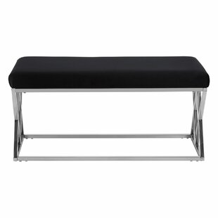 Redd Metal Bench By Canora Grey