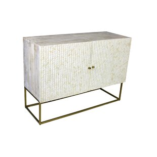 Leonor 2 Door Accent Cabinet by Everly Quinn