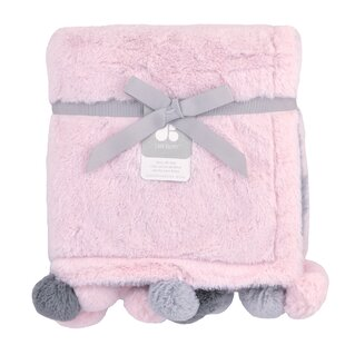 Comparison Cuddle Plush Baby Blanket By Just Born