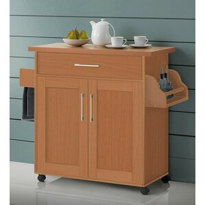 Terrell Kitchen Island by Andover Mills