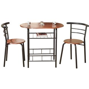 Volmer 3 Piece Compact Dining Set  sc 1 st  Wayfair & Kitchen \u0026 Dining Room Sets You\u0027ll Love