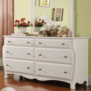 Find for Auberkonos 6 Drawer Double Dresser by Harriet Bee Reviews (2019) & Buyer's Guide
