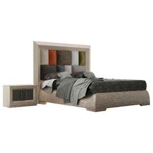 Pettaway Panel 4 Piece Bedroom Set