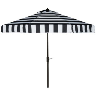 Seaport 9' Drape Umbrella by Beachcrest Home Discount