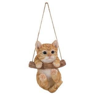 Pet Pal Rocking Kitten Wall Decor Image