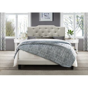 Charlton Home Kurt Upholstered Panel Bed