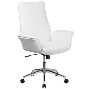 Ivy Bronx Kymmi Swivel Mid-Back Executive Chair