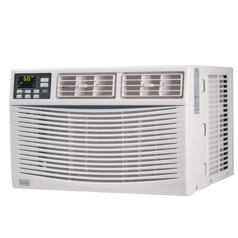 Black Decker 6 000 Btu Energy Star Window Air Conditioner With Remote Reviews Wayfair