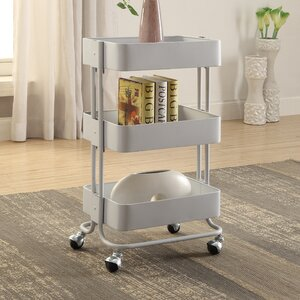 Zadiee 3 Tier Bar Cart