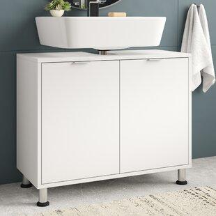 Keomi 70cm Free Standing Under Sink Storage Unit By Belfry Bathroom