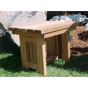 Cabbage Hill Solid Wood Side Table by Wood Country
