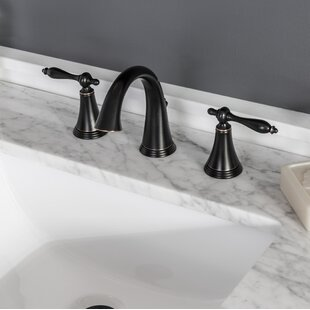 Miseno Santi Widespread Bathroom Faucet with Drain Assembly