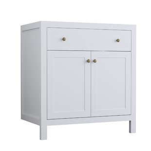Judd 800mm Free-standing Single Vanity Unit By August Grove