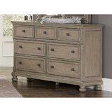 Ilfracombe 7 Drawer Double Dresser by Fleur De Lis Living