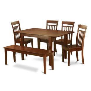 Lorelai 6 Piece Dining Set Alcott Hill