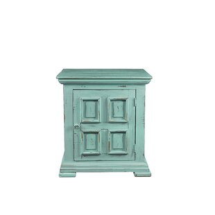 Popel End Table with Storage by August Grove
