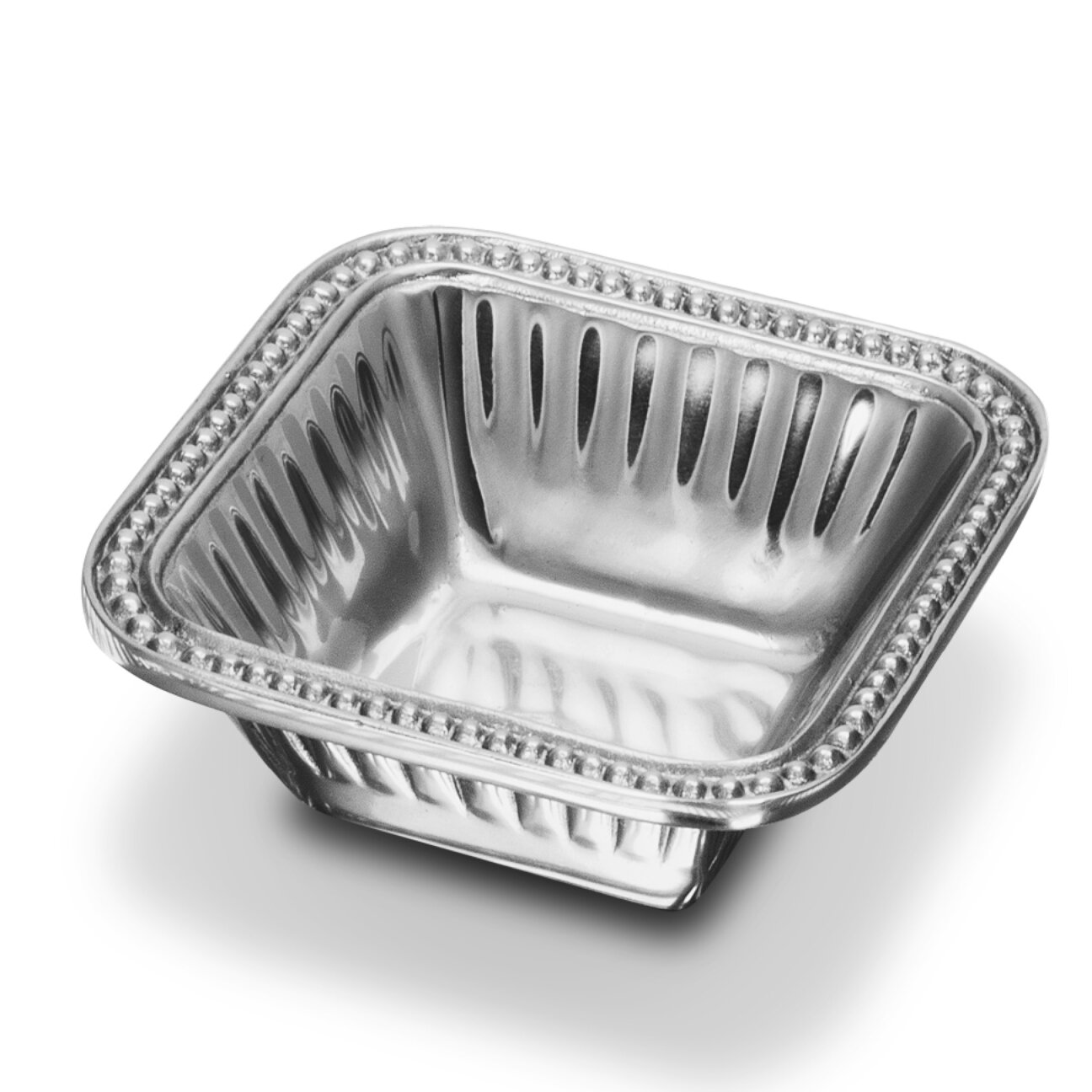 Wlar Flutes And Pearls Square Dip Tray Wayfair