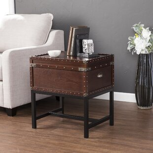 Williston Forge Naber End Table with Storage