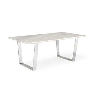 Etonnant Clower Marble Top Dining Table