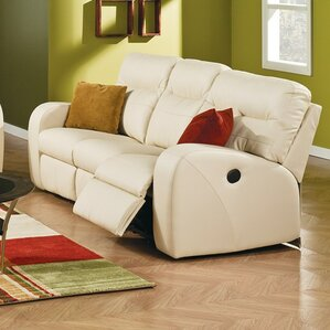 Glenlawn Leather Reclining Sofa by Palliser Furniture