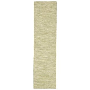 Boerner Hand-Woven Green Indoor/Outdoor Area Rug