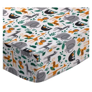 Find a Dacula Jungle Animals 3 Piece Crib Bedding Set ByZoomie Kids