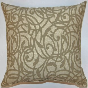 Olina Stone Cotton Throw Pillow