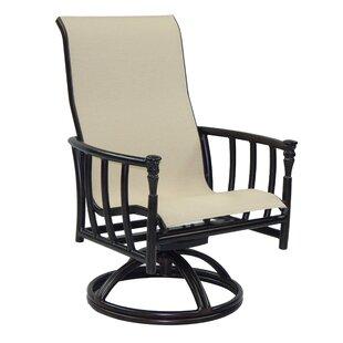 Leona Provence Sling Swivel Rocking Chair
