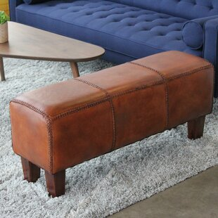 Aaryahi Leather Bench