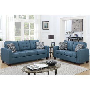 Inexpensive Sylmar 2 Piece Living Room Set by Latitude Run Reviews (2019) & Buyer's Guide