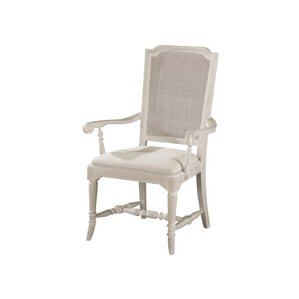 cane upholstered dining chair
