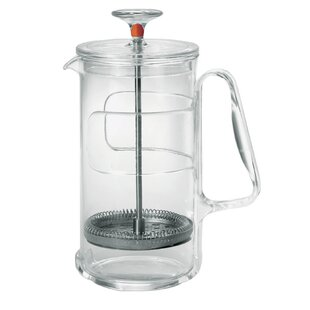 In Fusion Acrylic Glass & Stainless Steel Multishaker 8 Cup 33.8 Oz. Pitcher
