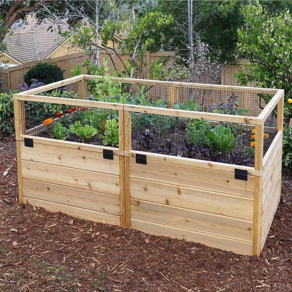 Outdoor Living Today 6 ft x 6 ft Cedar Raised Garden Bed & Reviews