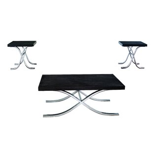 Coonrod 3 Piece Occasional Coffee Table Set