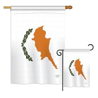 Breeze Decor American Czech Friendship Of The World Impressions Decorative Vertical 2 Sided Polyester Flag Set Wayfair