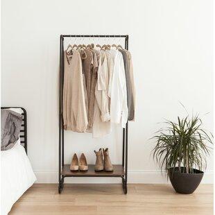 Reviews 25.19 W Garment Rack ByIRIS USA, Inc.