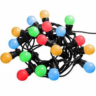 Globe Festoon Big Bulb LED Novelty String Lights (Set Of 20) Image