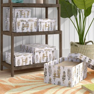 Searching for Paper 6 Piece Storage Box Set ByBay Isle Home