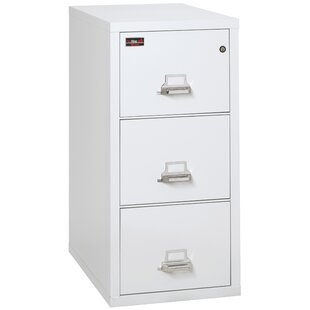 Fireproof 3 Drawer Vertical Filing Cabinet