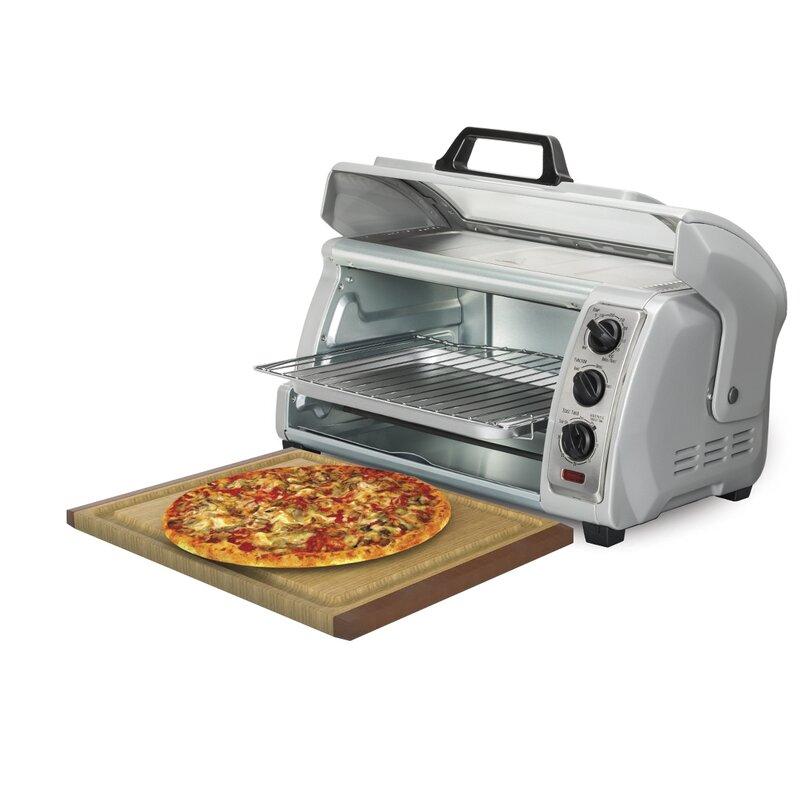 Ft. Easy Reach Toaster Oven With Roll Top Door