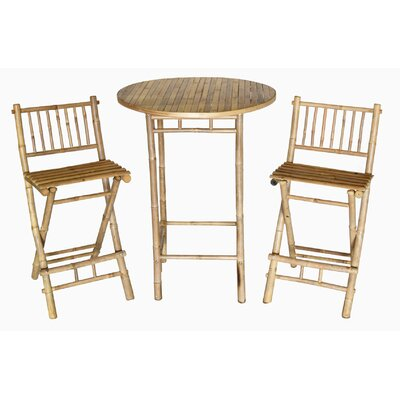 Dickenson 3 Piece Bistro Set by Bay Isle Home 2020 Coupon