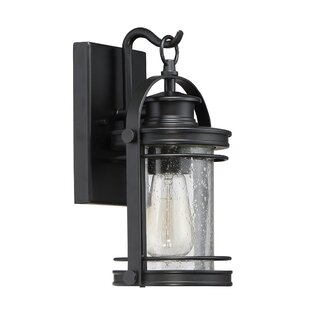 Best Reviews Ashton 1-Light Outdoor Wall Lantern By Breakwater Bay