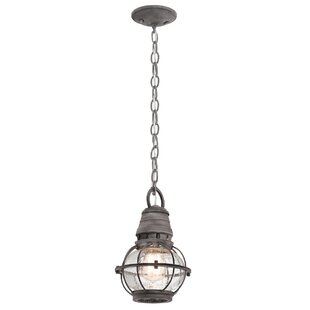 Grace 1 Light Outdoor Hanging Lantern By Longshore Tides