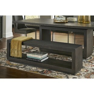 Bozarth Rectangular Wood Storage Bench