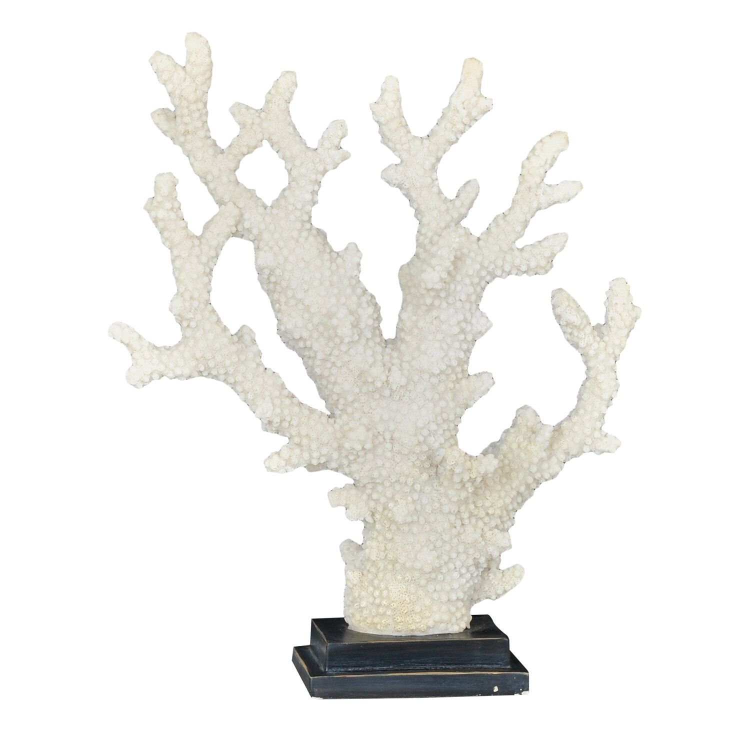 Rosecliff Heights Ragin Angria Resin Coral Sculpture Wayfair