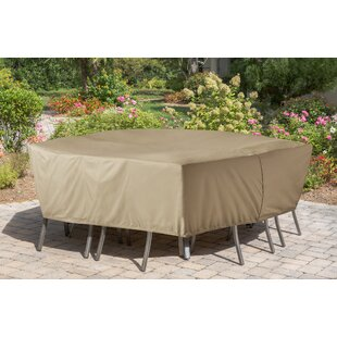 Freeport Park Vinyl Patio Dining Set Cover