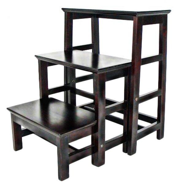 3-Step Wood Retractable Step Stool with 200 lb. Load Capacity  sc 1 st  Wayfair & Ladders u0026 Step Stools Youu0027ll Love | Wayfair islam-shia.org