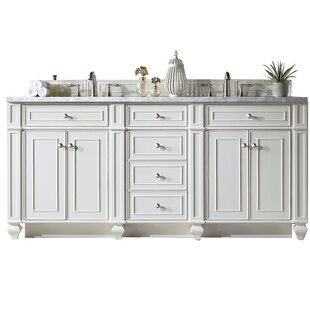 Bristol 72 Double Bathroom Vanity Base by James Martin Furniture