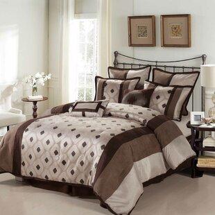 Grayson 8 Piece Reversible Comforter Set by Nanshing America, Inc
