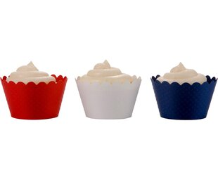 Scalloped Cupcake Wrapper (Set of 36)